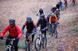 Mountain Biking Group Ride
