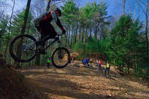 Mountain Biking Jacket Drop