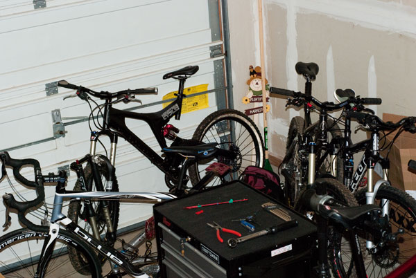 Mountain Bike Racking System Shop