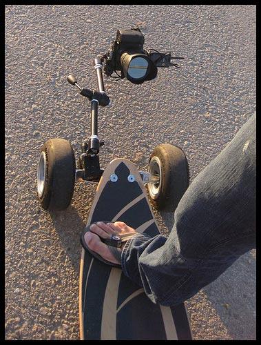 Skateboarding - Unique Picture Perspective