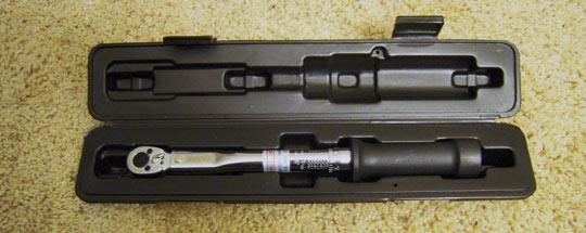 Pedro's Torque Wrench 1.0 In Box