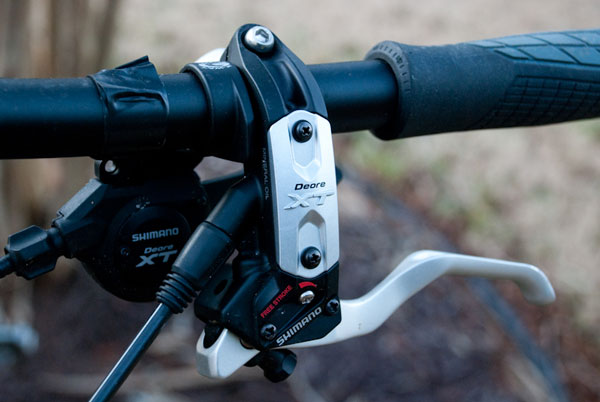 Shimano Deore XT Left Brake Lever and Shifter
