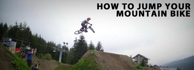 Cam McCall - How To Jump A Mountain Bike
