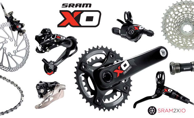 SRAM X0 10 Speed Mountain Bike Components