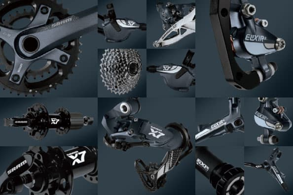 SRAM X7 10 Speed Mountain Bike Components