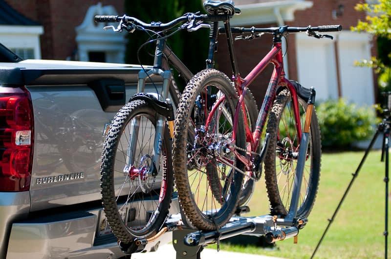 Mountain Bikes Racked Kuat Nv
