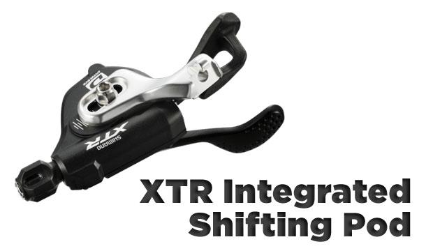 2011 Shimano XTR Integrated Shifter