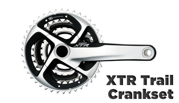 2011 Shimano XTR Trail Crankset