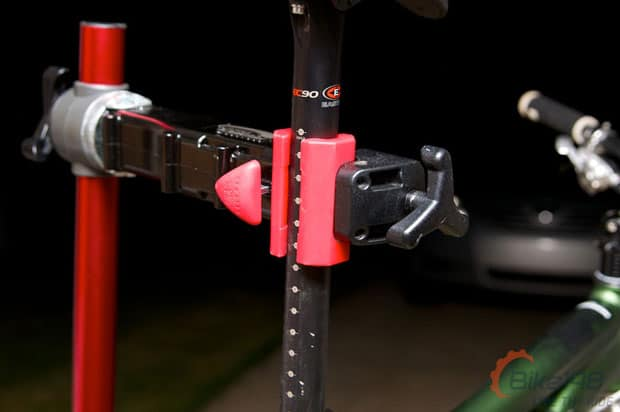 Seatpost Clamped on Pro-Elite