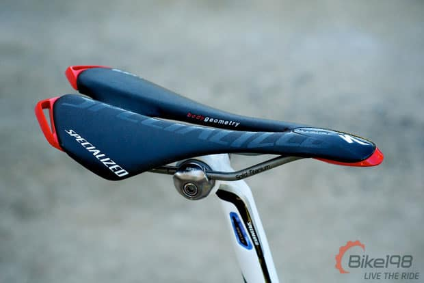 Review Specialized Toupe Team Road Bike Saddle Bike198