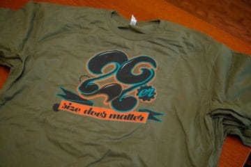 29er Size Does Matter Tee
