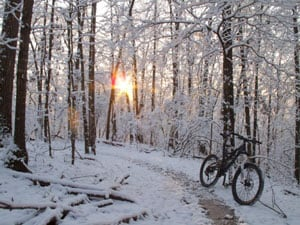 Snow Mountain Bike Ride