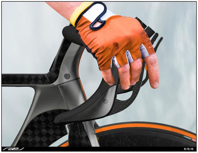 Rael Road Bike Concept Hoods and Shifters
