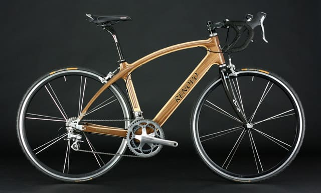 Renvo Wood Frame Road Bike