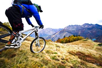 Mountain biking scenery