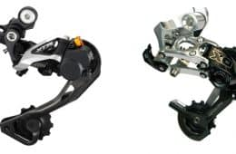SRAM Type 2 and Shimano Shadow Plus